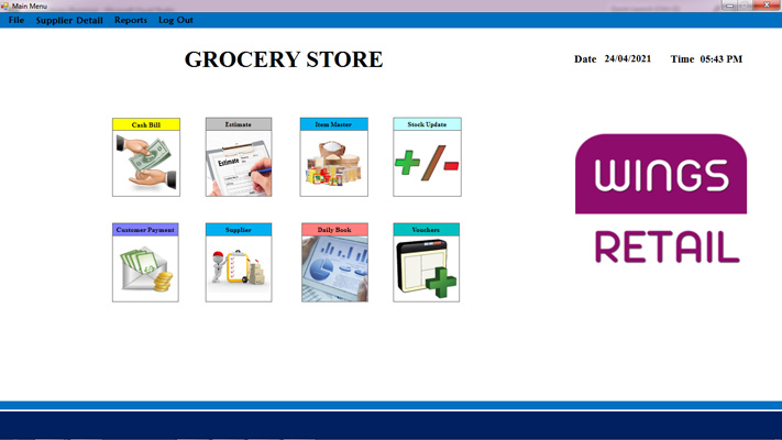Grocery Store Software
